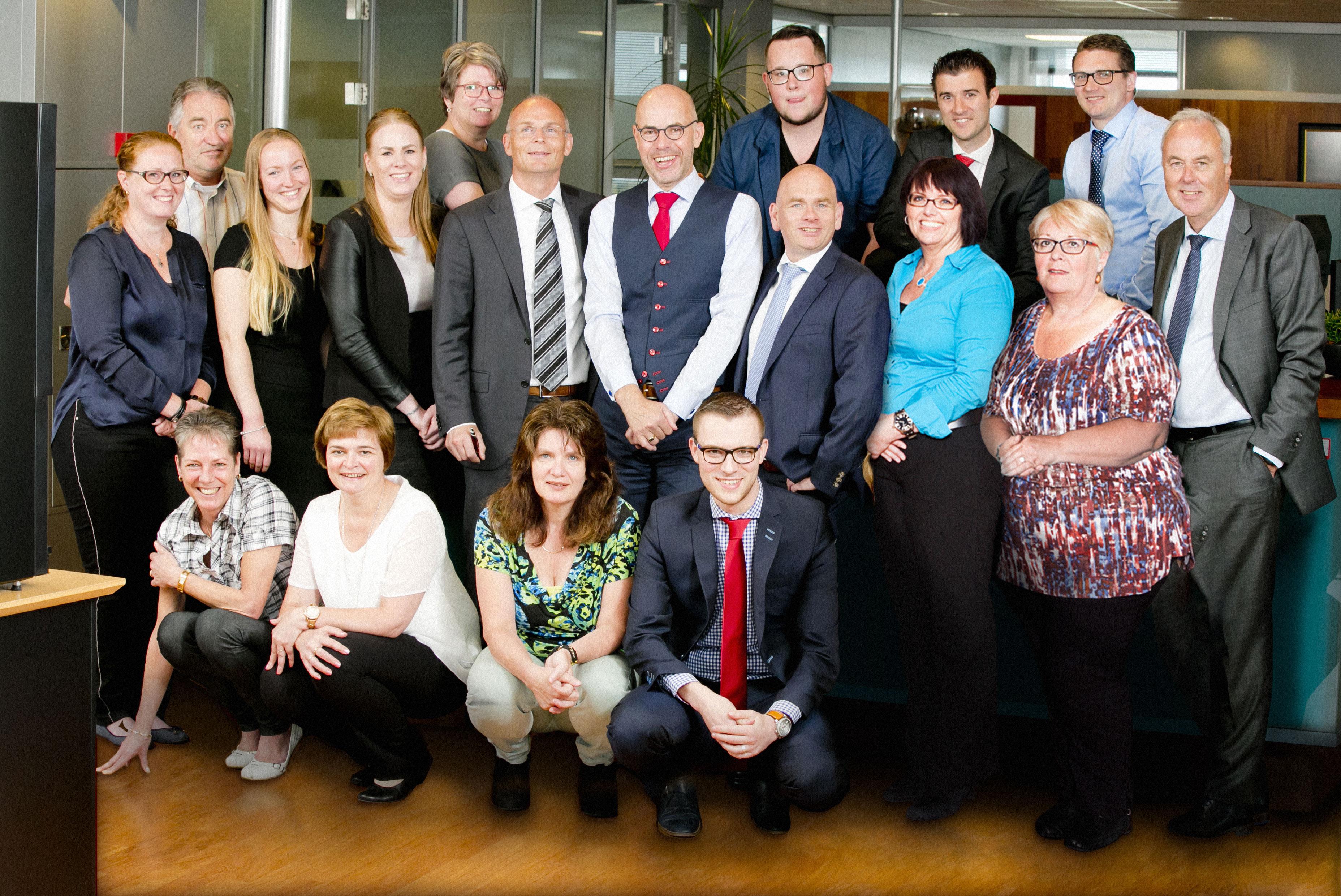 groepsfoto PVM notarissen Almere